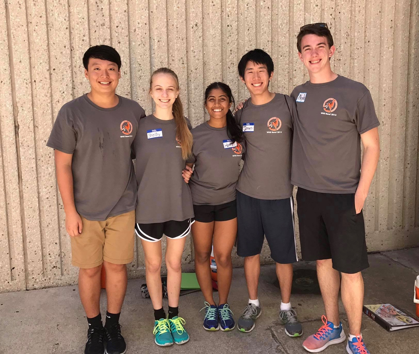2017-18 Drum Majors-Fish Camp