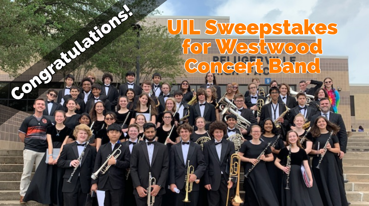 Concert Band Earns Straight 1's!